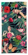 Tropical Fun Sexy  Beach Towel