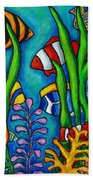 Tropical Gems Beach Towel by Lisa  Lorenz