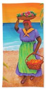 Tropical Harvest Beach Towel