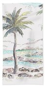Tropical Island Beach Towel