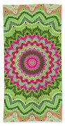 Tropical Kaleidoscope Beach Towel
