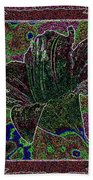 Tropical Lily 3 Beach Towel