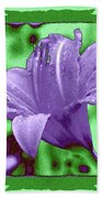 Tropical Lily 4 Beach Towel