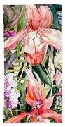 Tropical Orchids Beach Sheet
