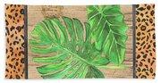 Tropical Palms 2 Beach Sheet