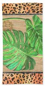 Tropical Palms 2 Beach Towel