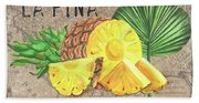 Tropical Palms 5 Beach Sheet