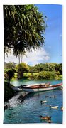 Tropical Plantation - Maui Beach Towel