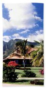 Tropical Plantation Beach Towel