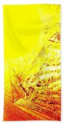 Tropical Sunrise Beach Towel
