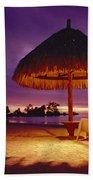 Tropical Tahitian View Beach Towel