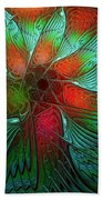 Tropical Tones Beach Towel