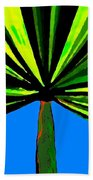 Tropical Tree Beach Towel