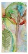 Tropical Trees Beach Towel