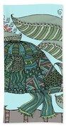 Tropical Turtle Beach Towel
