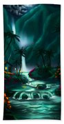 Tropical Vacation  Beach Towel