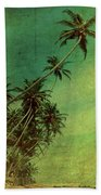 Tropical Vestige Beach Towel