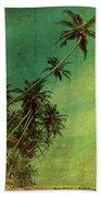 Tropical Vestige Beach Towel by Andrew Paranavitana