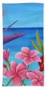 Tropical View Beach Sheet