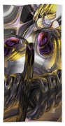 Tropical Wind Abstract Beach Towel