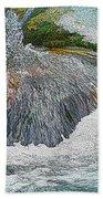 Trout Stream Beach Towel