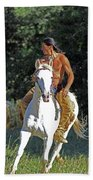 True Horsemen Beach Towel