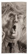 Trump A Dengerous A-hole Beach Towel