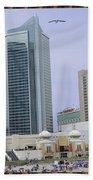 Trump Palace Tajmahal Hotel Atalantic Beaches And Board Walk America Photography By Navinjoshi At  Beach Towel