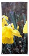 Trumpets Of Spring Beach Towel