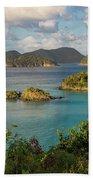 Trunk Bay Morning Beach Towel