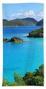 Trunk Bay St. John Beach Sheet