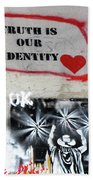 Truth Is Our Identity Beach Towel