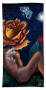 Tryst By Night    Beach Towel