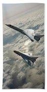 Tsr.2 Advanced Bomber And Lightning Interceptor Beach Towel