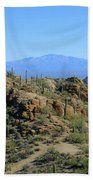 Tucson Mountain Ranges Beach Towel
