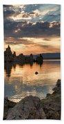 Tufa Sunrise Beach Towel