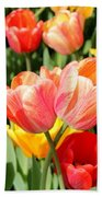 Tulip Crossing Beach Towel