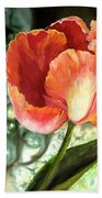 Tulip Dance Beach Towel