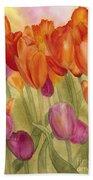 Tulip Glory Beach Towel