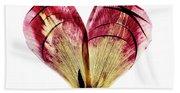 Tulip Heart Beach Sheet