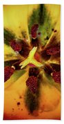 Tulip Macro Beach Towel