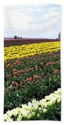 Tulip Town 11 Beach Towel