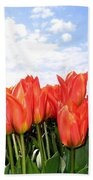 Tulip Town 17 Beach Towel
