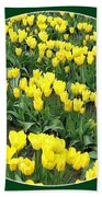 Tulip Town 2 Beach Towel