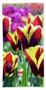 Tulip Treasures Beach Towel