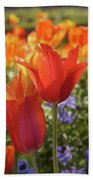 Tulips Everywhere 3 Beach Towel
