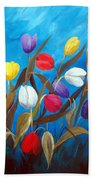 Tulips Galore II Beach Towel
