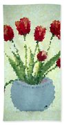 Tulips I  Beach Towel