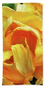 Tulips In Yellow Too Beach Towel