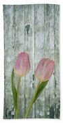 Tulips Two Beach Towel